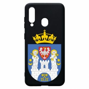 Phone case for Samsung A60 Poznan coat of arms