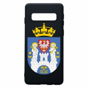 Phone case for Samsung S10 Poznan coat of arms
