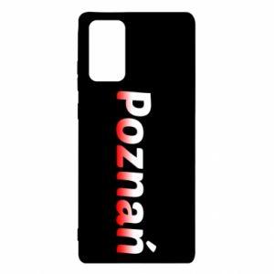 Samsung Note 20 Case Poznan