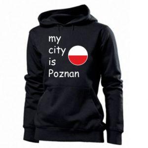 Damska bluza My city is Poznan - PrintSalon