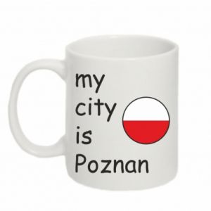 Mug 330ml My city isPoznan