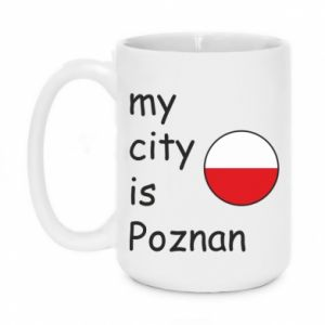 Kubek 450ml My city is Poznan - PrintSalon