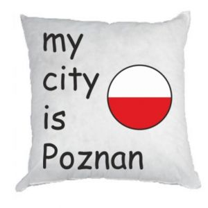 Pillow My city isPoznan