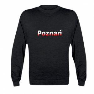 Kid's sweatshirt Poznan
