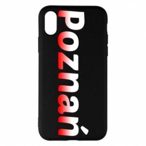 iPhone X/Xs Case Poznan