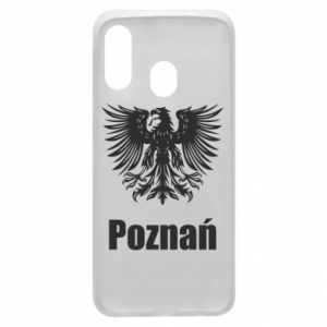 Phone case for Samsung A40 Poznan