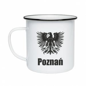 Enameled mug Poznan