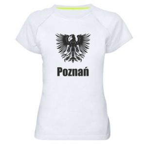 Women's sports t-shirt Poznan