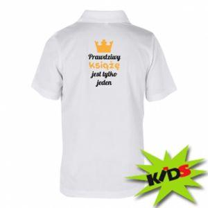 Dziecięca koszulka polo Prawdziwy książę