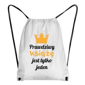 Plecak-worek Prawdziwy książę