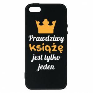 Etui na iPhone 5/5S/SE Prawdziwy książę