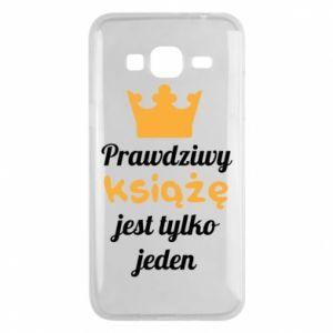 Etui na Samsung J3 2016 Prawdziwy książę