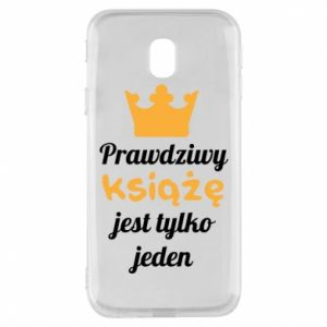 Etui na Samsung J3 2017 Prawdziwy książę