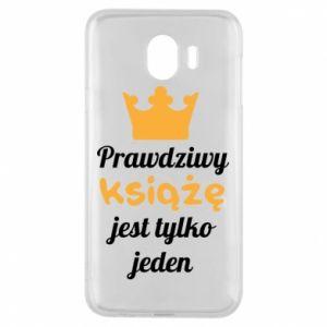 Etui na Samsung J4 Prawdziwy książę
