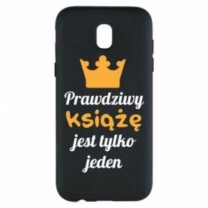 Etui na Samsung J5 2017 Prawdziwy książę