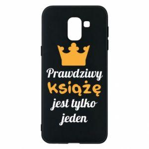 Etui na Samsung J6 Prawdziwy książę