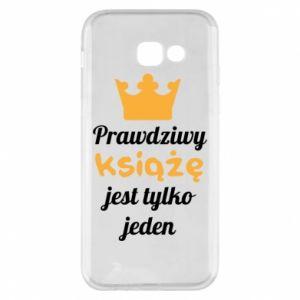 Etui na Samsung A5 2017 Prawdziwy książę