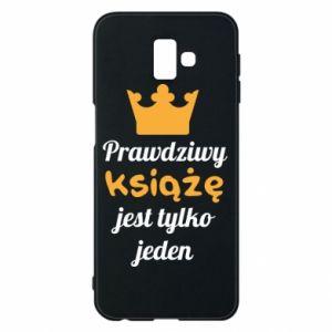 Etui na Samsung J6 Plus 2018 Prawdziwy książę