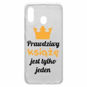 Etui na Samsung A20 Prawdziwy książę