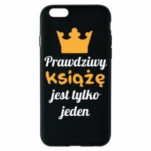 Etui na iPhone 6/6S Prawdziwy książę