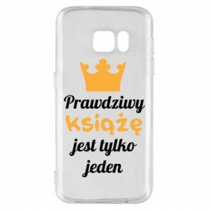 Etui na Samsung S7 Prawdziwy książę