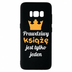 Etui na Samsung S8 Prawdziwy książę