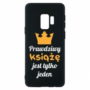 Etui na Samsung S9 Prawdziwy książę