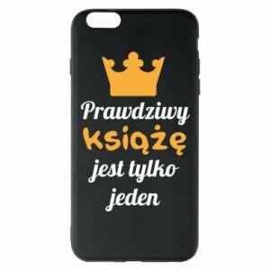 Etui na iPhone 6 Plus/6S Plus Prawdziwy książę