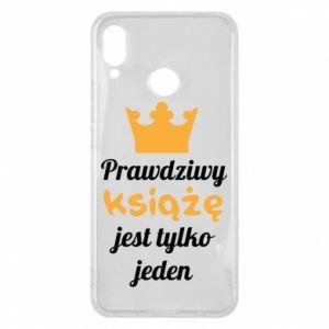 Etui na Huawei P Smart Plus Prawdziwy książę