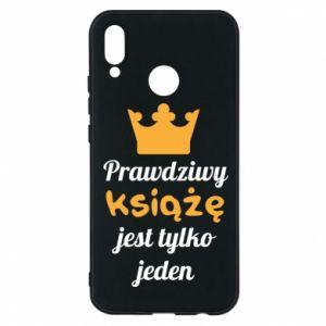 Etui na Huawei P20 Lite Prawdziwy książę