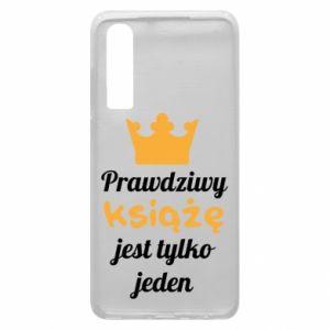 Etui na Huawei P30 Prawdziwy książę
