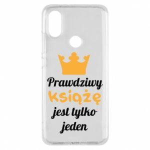 Etui na Xiaomi Mi A2 Prawdziwy książę