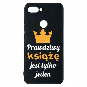 Etui na Xiaomi Mi8 Lite Prawdziwy książę