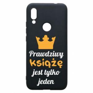 Etui na Xiaomi Redmi 7 Prawdziwy książę