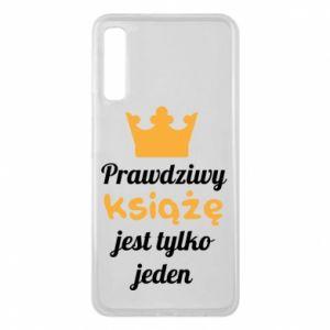 Etui na Samsung A7 2018 Prawdziwy książę
