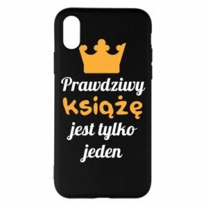 Etui na iPhone X/Xs Prawdziwy książę