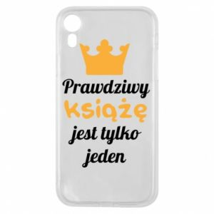 Etui na iPhone XR Prawdziwy książę