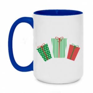 Two-toned mug 450ml New Year gifts