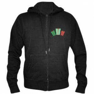 Men's zip up hoodie New Year gifts