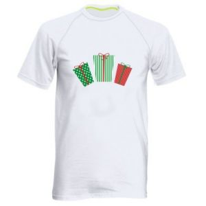 Men's sports t-shirt New Year gifts