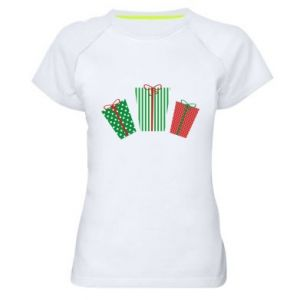 Women's sports t-shirt New Year gifts