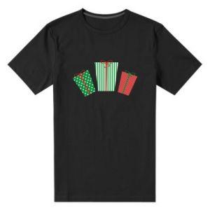 Męska premium koszulka Prezenty noworoczne