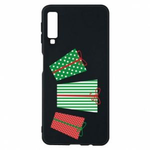 Phone case for Samsung A7 2018 New Year gifts