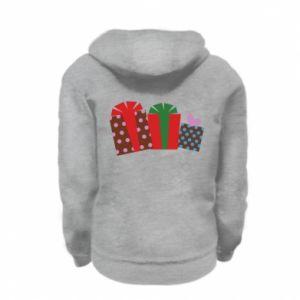 Kid's zipped hoodie % print% Gifts