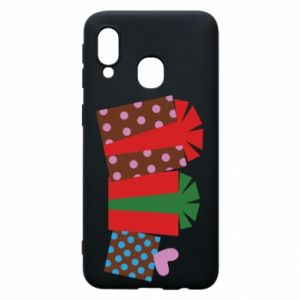 Phone case for Samsung A40 Gifts