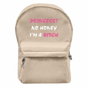 Plecak z przednią kieszenią Princess? No honey i'm a bitch