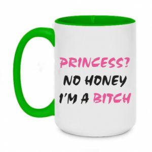 Kubek dwukolorowy 450ml Princess? No honey i'm a bitch
