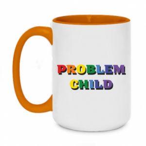 Kubek dwukolorowy 450ml Problem child