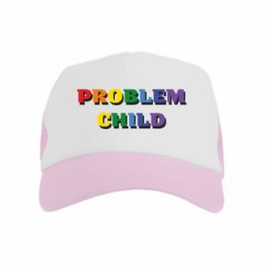 Czapka trucker dziecięca Problem child