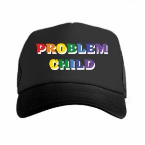 Czapka trucker Problem child